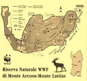 Monte Arcosu Sardegna