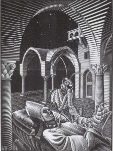 Il Sogno - M.C. Escher