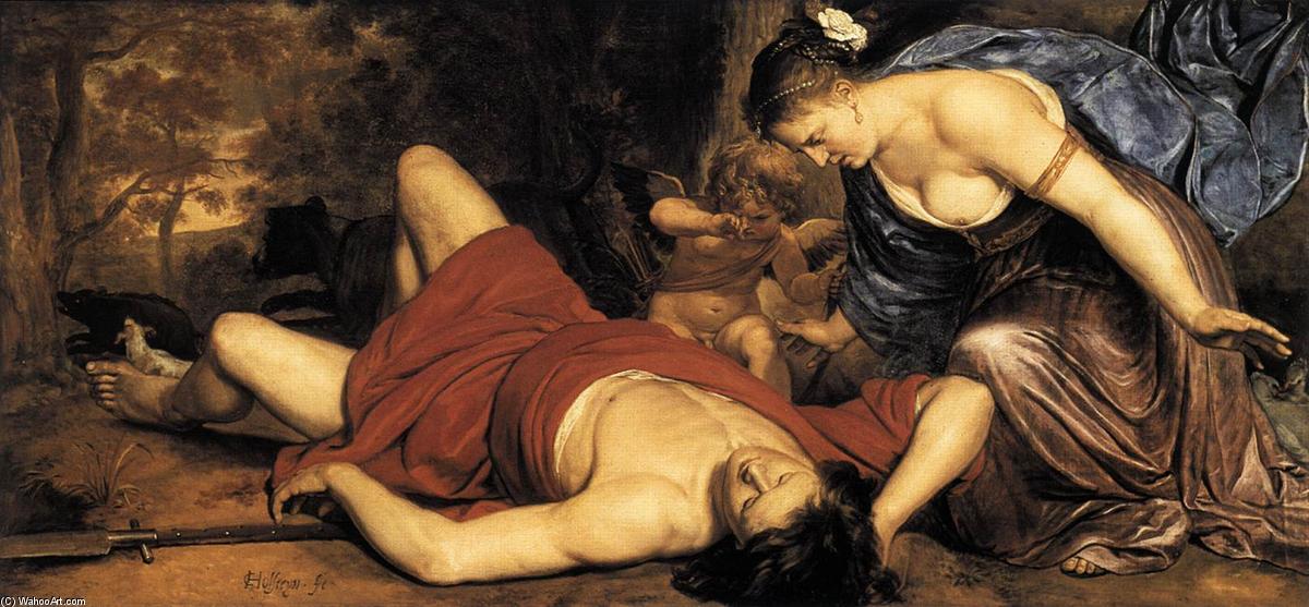 venere e la morete di adone