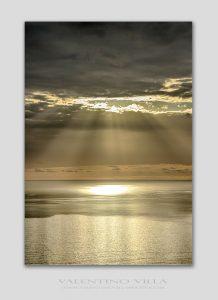 tramonto argentato