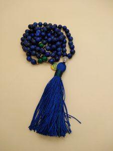 rosario indiano lapislazzuli