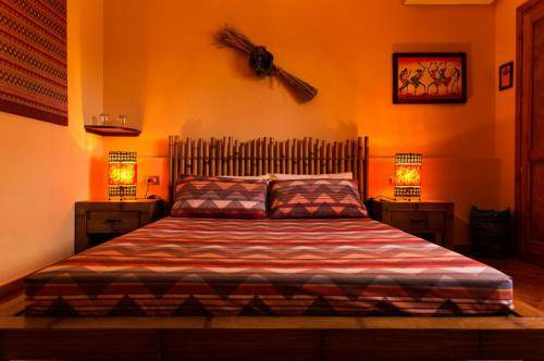 Camera Ibisco letto