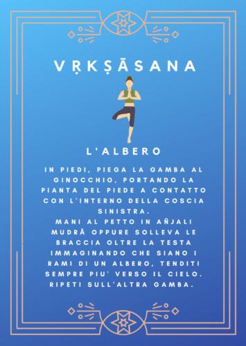 Vrksasana, la Posizione dell'Albero